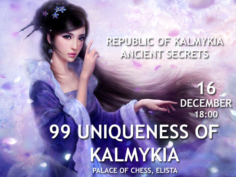 99 uniqueness of Kalmykia